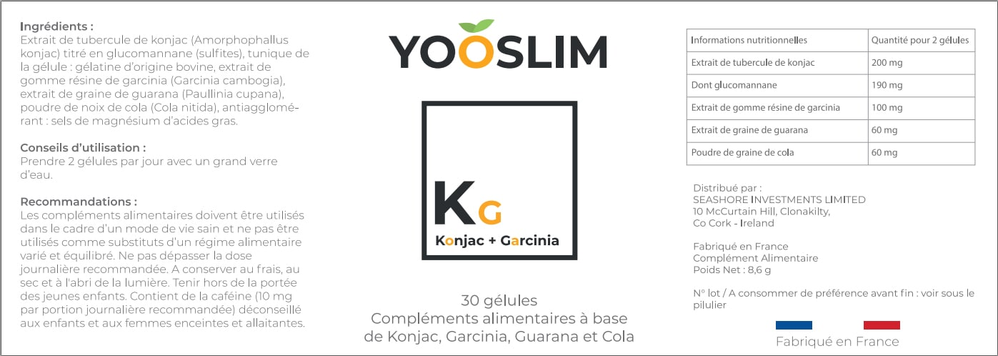 etiquette yooslim