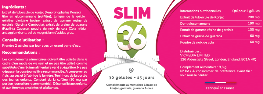 slim 36 ingredients